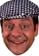 David Jason aka Dell Trotter TV star Face Mask