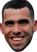 Carlos Tevez OFFER Celebrity Face Mask