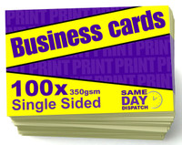 100 X Business Cards