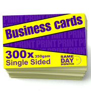 300 x Business Cards
