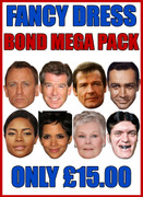 Bond Pack Mega Pack - Fancy Dress