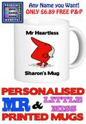 Mr Heartless Man Personalised Mug Cup