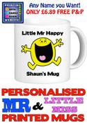 Mr Happy Man Personalised Mug Cup