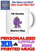 Mr Grumble Man Personalised Mug Cup