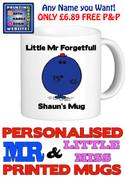 Mr Forgetful Man Personalised Mug Cup