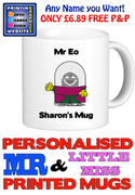 Mr Eo Man Personalised Mug Cup