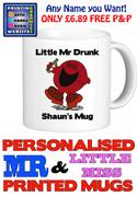 Mr Drunk Man Personalised Mug Cup