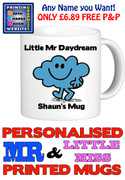 Mr Daydream Man Personalised Mug Cup