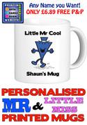 Mr Cool Man Personalised Mug Cup