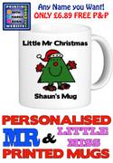 Mr Christmas Man Personalised Mug Cup