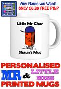 Mr Chav Man Personalised Mug Cup