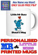 Mr Busy Man Personalised Mug Cup