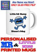 Mr Bump Man Personalised Mug Cup
