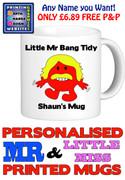 Mr Bang Tidy Man Personalised Mug Cup