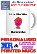 Little Miss Wise Personalised Mug Cup