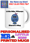 Little Miss Whoops Personalised Mug Cup