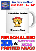 Little Miss Trouble Personalised Mug Cup