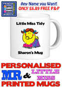 Little Miss Tidy Personalised Mug Cup