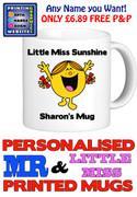 Little Miss Sunshine Personalised Mug Cup