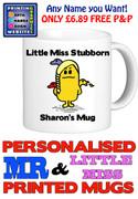 Little Miss Stubborn Personalised Mug Cup