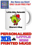 Little Miss Splendid Personalised Mug Cup