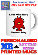 Little Miss Scary Personalised Mug Cup