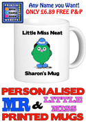 Little Miss Neat Personalised Mug Cup