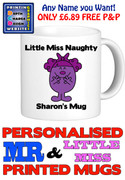 Little Miss Naughty 2 Personalised Mug Cup