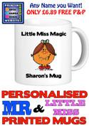 Little Miss Magic Personalised Mug Cup