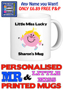 Little Miss Lucky Personalised Mug Cup