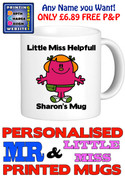 Little Miss Helpful Personalised Mug Cup