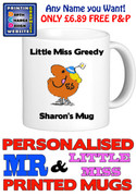 Little Miss Greedy Personalised Mug Cup