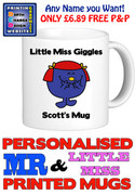 Little Miss Giggles Personalised Mug Cup