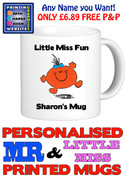 Little Miss Fun Personalised Mug Cup