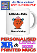 Little Miss Fickle Personalised Mug Cup