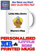 Little Miss Dotty Personalised Mug Cup