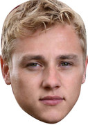 Peter Beale 2015 Celebrity Face Mask