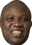 Akinwunmi Ambode POLITICIANS 2015 Celebrity Face Mask