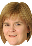 Nicola-Sturgeon POLITICIANS 2015 Celebrity Face Mask