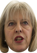 Theresa May Politicians 2015 Celebrity Face Mask