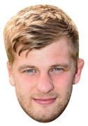 George Kruis Rugby 2015 Celebrity Face Mask