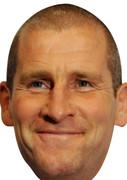 Stuart Lancaster England Rugby 2015 Celebrity Face Mask