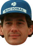Ayrton Senna Sports 2015 Celebrity Face Mask