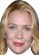 Laurie Holden Walking Dead 2015 Celebrity Face Mask