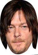 Norman-Reedus Walking Dead 2015 Celebrity Face Mask