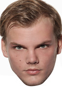 Avicii MUSIC STAR 2015 Celebrity Face Mask