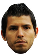 Aguero Argentina FOOTBALL 2015 Celebrity Face Mask