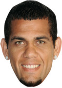 Alves Brazil FOOTBALL 2015 Celebrity Face Mask