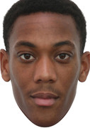 Anthony Martial Football 2015 Celebrity Face Mask