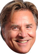 Don Johnson Movies Stars 2015 Celebrity Face Mask